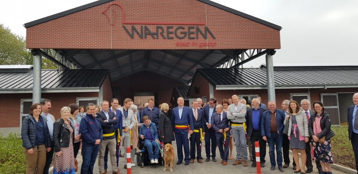 Opening of the Hippodroom Waregem stable complex